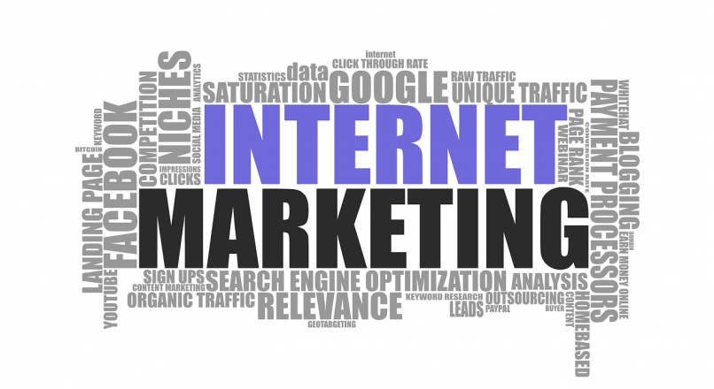 What are the various categories in digital marketing?