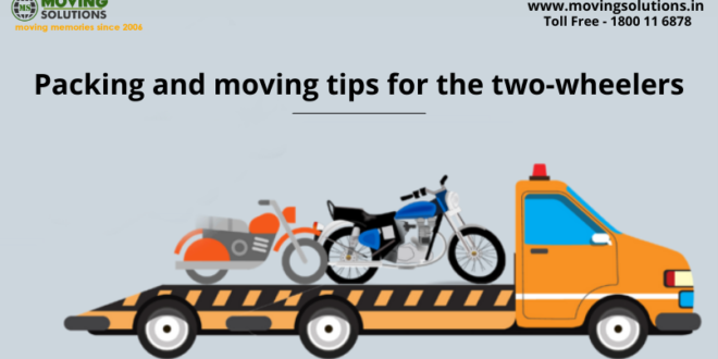 Packing and moving tips for the two-wheelers